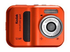 Kodak C123 Red 12.0 MP Waterproof Digital Camera