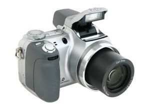 SONY DSC-H2 Silver 6.0 MP 12X Optical Zoom Digital Camera