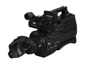 "SONY  HVRHD1000U  Black 1/2.9"" Clear Vide CMOS Sensor  2.7"" 211K 10X Optical Zoom High Definition HDV Shoulder Mount Digital  Camcorder"