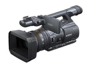 "SONY Handycam HDR-FX1000 Black 3 x 1/3"" ClearVid CMOS sensor 3.2"" 921K Wide Xtra Fine LCD 20X Optical Zoom Professional Camcorder"