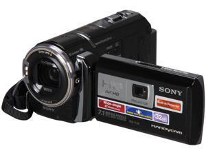 "SONY HDRPJ30V Black 1/4"" CMOS 3.0"" 230k LCD 12X Optical Zoom Full HD HDD/Flash Memory Camcorder"