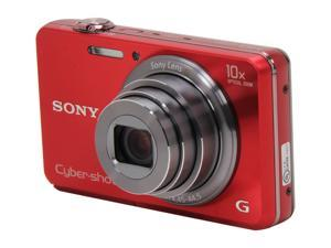 SONY DSCWX150/R Red 18 MP Digital Camera