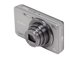 SONY Cyber-shot DSC-W690 Silver 16.1 MP Digital Camera