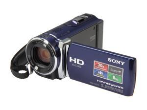 "Sony HDR-CX210 1920x1080 Full HD Camcorder - 5.3 MegaPixels, 1/5.8"" CMOS, 2.7"" Touch-Screen LCD, 300x Digital, 25x Optical, ..."