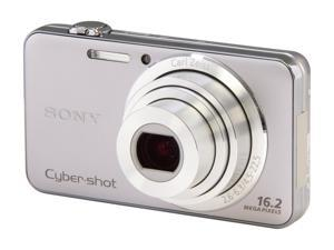 Sony Cyber-shot DSC-WX50 16.2 MP Digital Camera with 5x Optical Zoom and 2.7-inch LCD (Silver)