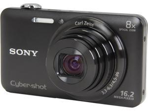SONY Cyber-shot WX80 DSC-WX80/B Black 16.2 MP Digital Camera HDTV Output