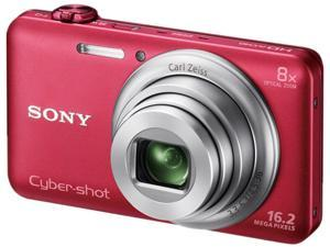 SONY Cyber-shot WX80 DSC-WX80/R Red 16.2 MP Digital Camera HDTV Output