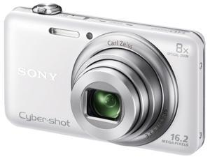 SONY Cyber-shot WX80 DSC-WX80/W White 16.2 MP Digital Camera HDTV Output