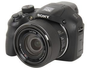 SONY Cyber-shot DSC-HX300/B Black 20.4 MP 50X Optical Zoom Digital Camera HDTV Output