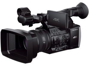 "SONY FDR-AX1 Black 1/2.3"" CMOS 3.5"" 1229K LCD 20X Optical Zoom 4K Professional Camcorder"