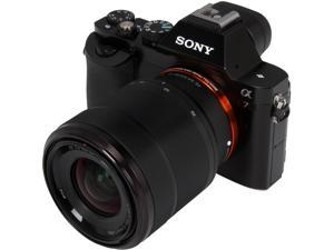 "SONY Alpha a7 ILCE-7K/B Black 24.3 MP 3.0"" 921.6 K LCD Interchangeable Lens Camera with FE 28-70mm f/3.5-5.6 OSS Lens"
