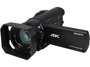 "SONY FDR-AX100/B Black 1"" Exmor R CMOS 3.5"" 921K Touch LCD 12X Optical Zoom Full HD HDD/Flash Memory Camcorder"