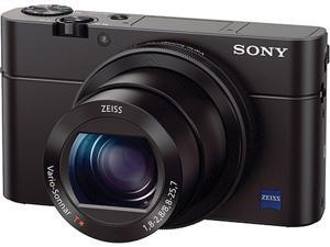 SONY Cyber-shot RX100 III Black 20.1MP 2.9X Optical Zoom 25mm Wide Angle Digital Camera HDTV Output