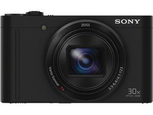 SONY Cyber-shot WX500 Black 18.2 MP 30X Optical Zoom Digital Camera HDTV Output