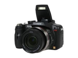 Panasonic DMC-FZ100K Black 14.1MP 24X Optical Zoom 25mm Wide Angle Digital Camera