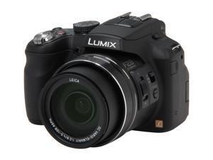 Panasonic LUMIX FZ200 Black 12.1 MP 24X Optical Zoom 25mm Wide Angle Digital Camera HDTV Output