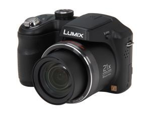 Panasonic LUMIX LZ20 DMC-LZ20K Black 16.1 MP 25mm Wide Angle Digital Camera
