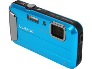 Panasonic LUMIX DMC-TS25A Blue 16.1 MP Waterproof Digital Camera
