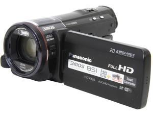 "Panasonic HC-X920K Black 1/2.3"" 3MOS 3.5"" LCD 12X Optical Zoom Full HD HDD/Flash Memory Camcorder"