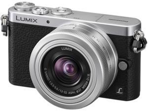 Panasonic LUMIX GM1 DMC-GM1KS Silver Compact System Camera (DSLM) with 12-32mm Kit Lens