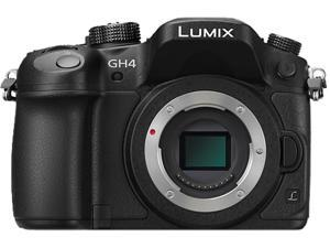 Panasonic LUMIX GH4 Professional 4K Mirrorless Interchangeable Lens Camera Body Only – Black