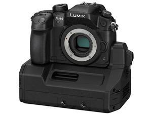 "Panasonic LUMIX GH4 DMC-GH4-YAGH Black 16.05 MP 3.0"" 1036K Touch LCD Digital Single Lens Mirrorless Camera with Interface Unit"
