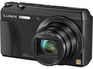 Panasonic DMC-ZS35WCP Black 16 MP 20X Optical Zoom ZS35 Kit Includes camera bag and 16GB SD card