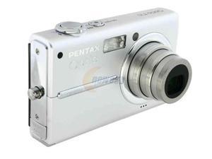 PENTAX T10 Silver 6MP 3X Optical Zoom Digital Camera