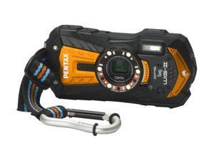 "PENTAX Optio WG-2 15441 Orange 16 MP 3.0"" 460K Action Camera"