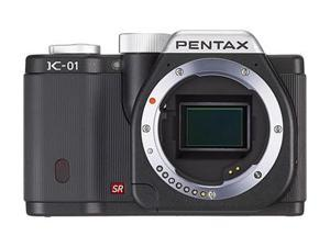 PENTAX K-01 (15222) Black Digital SLR Camera - Body Only