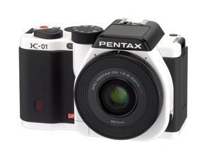PENTAX K-01 (15389) White Digital SLR Camera - Body Only