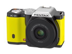 PENTAX K-01 (15342) Yellow Digital SLR Camera with DA 40mm XS