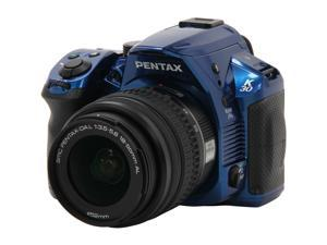 Pentax K-30 Blue 16MP CMOS Digital SLR with 18-55mm Lens