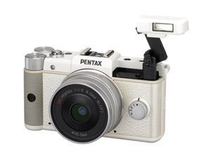 PENTAX Q (15143) White Mirrorless Digital Camera with 8.5mm Lens