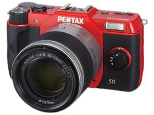 PENTAX Q10 (12195) Red Compact Mirrorless System Camera with 5 mm - 15 mm Lens