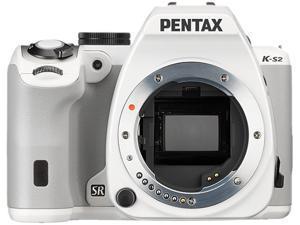 PENTAX K-S2 11890 White 20.12 MP Digital SLR Camera - Body