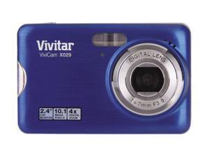 Vivitar Vivicam X029 VX029-GRP Purple 10.1 megapixels Digital Camera
