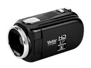 Vivitar DVR910BLACK Black High Definition HDD/Flash Memory Camcorder