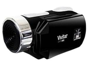 Vivitar DVR650-BLK Black HDD/Flash Memory Camcorder