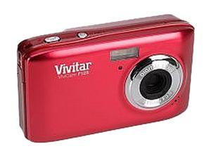 Vivitar ViviCam F128 Red 14.1 MP Digital Camera