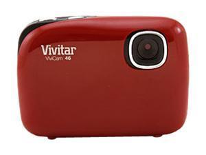 Vivitar ViviCam 46 Red 4.1 MP Digital Camera