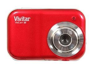 Vivitar ViviCam 25 Red 2.1 MP Digital Camera