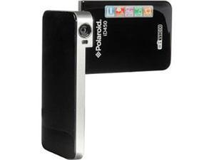 "Polaroid iD450 Black 3.0"" LCD HD Wifi Enhanced Pocket Ustream Digital Video Camcorder"