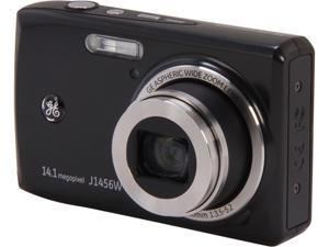 GE J1456W Black 14.4 MP Digital Camera