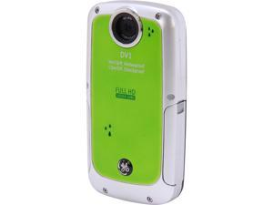 GE DV1 Waterproof/Shockproof 1080P Pocket Video Camera Lime Green