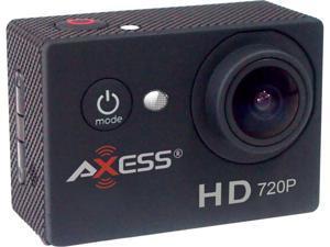 "AXESS CS3601-BK Black 1.5"" HD 720P Action Sports Camera"