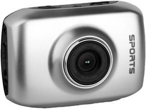 "Computer King Technology DVS1 Silver 1.3 MP 2.0"" LCD 4x Digital HD Action Camera with Touchscreen"