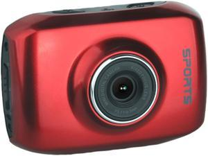 "Computer King Technology DVS1 Red 2.0"" LCD HD Action Camera with Touchscreen"