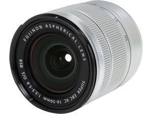 FUJIFILM 16401622 XC16-50mmF3.5-5.6 OIS Lens Silver