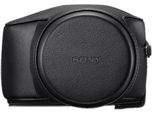 SONY LCJ-RXE/B Black Premium Jacket Case